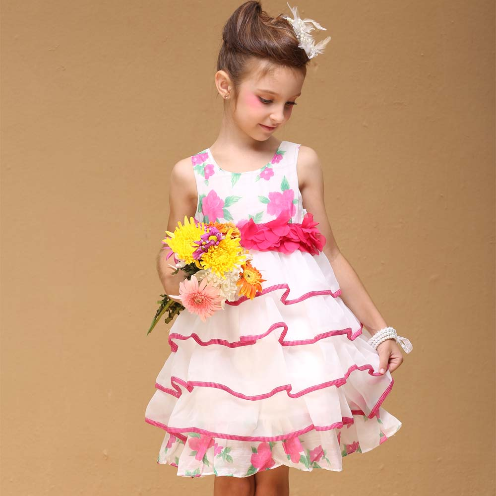 Baby Girl Pink Party Dress Elegant And Beautiful