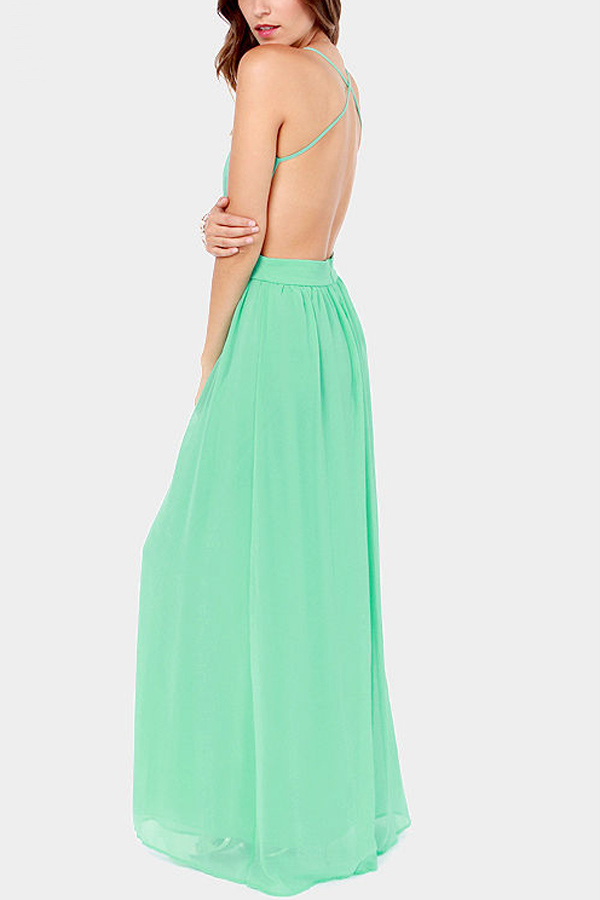 Backless Casual Maxi Dress & Popular Choice 2017
