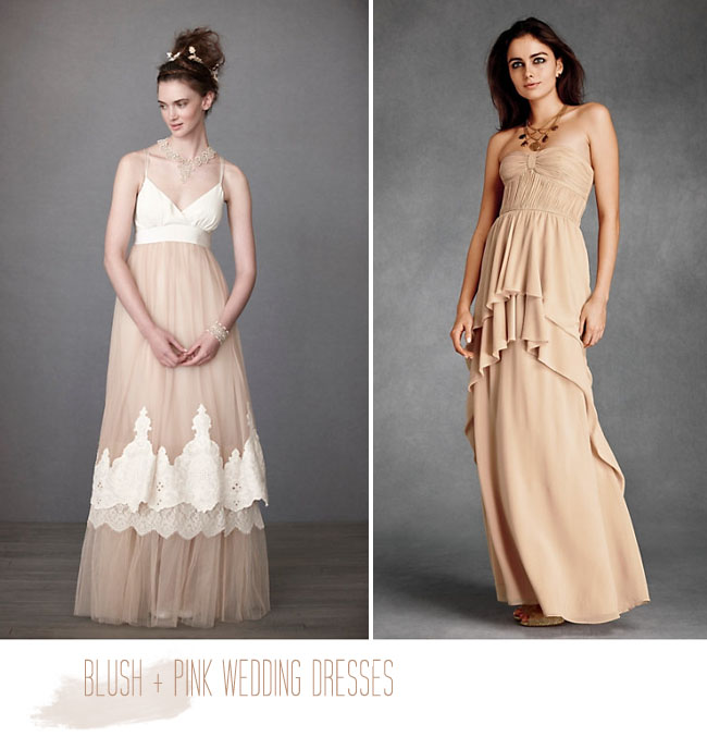 Blush tone bridesmaid dresses and review clothing brand for Wedding dresses in long island