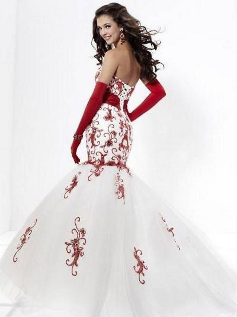 Red And White Wedding Dresses.Red White Bridesmaid Dresses Raveitsafe