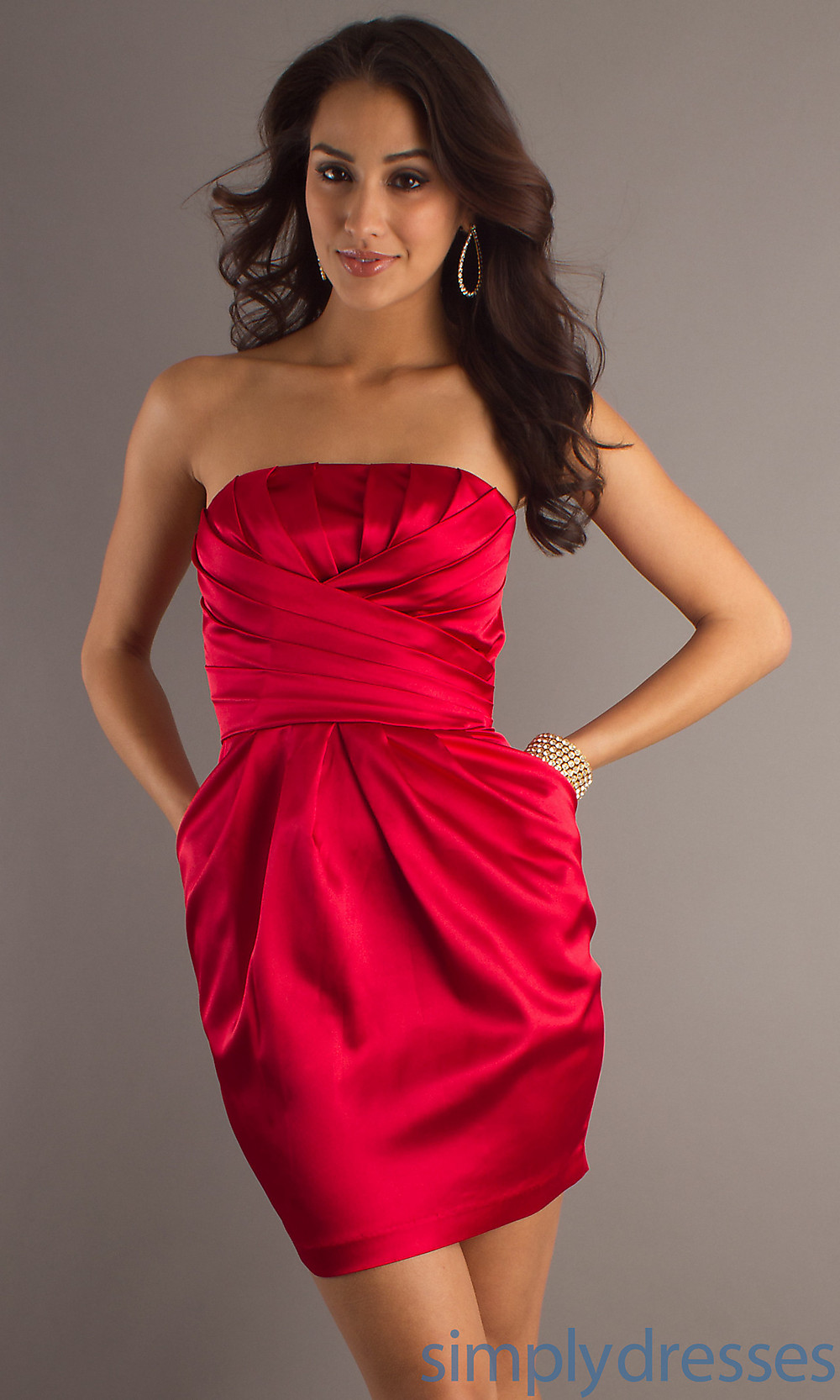 Bridesmaid Dresses Red Short And Fashion Week Collections – Always ...