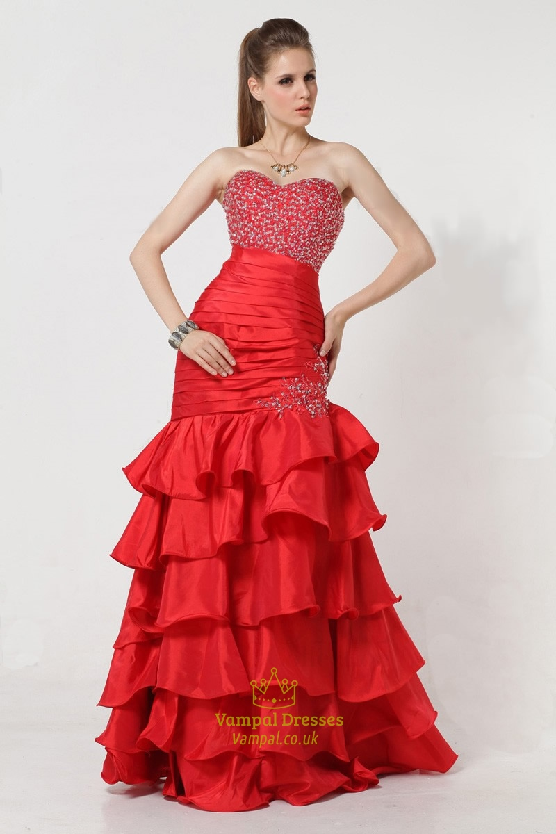 Cheap bridesmaid dresses red beautiful and elegant for Cheap wedding dresses under 50 dollars