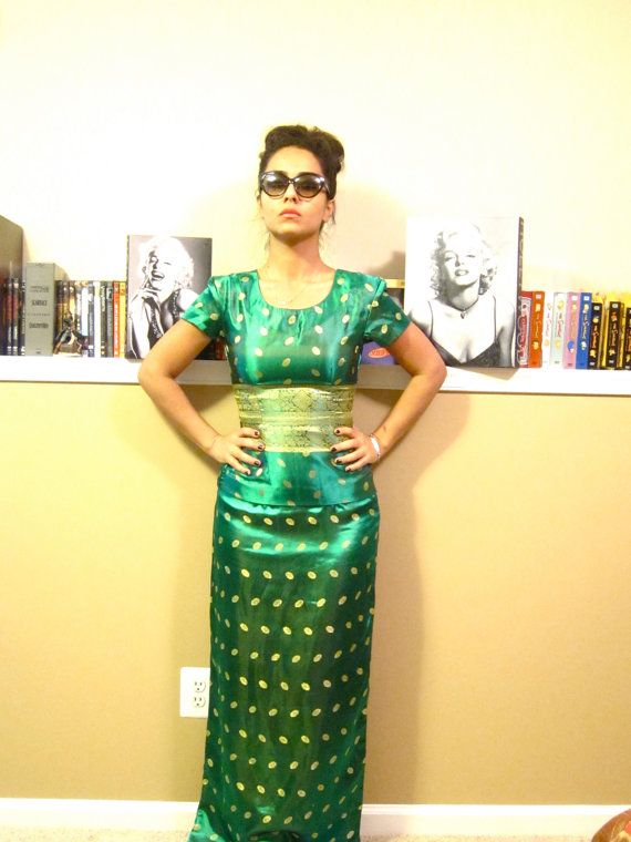 Emerald Green Two Piece Dress - Always In Fashion For All Occasions