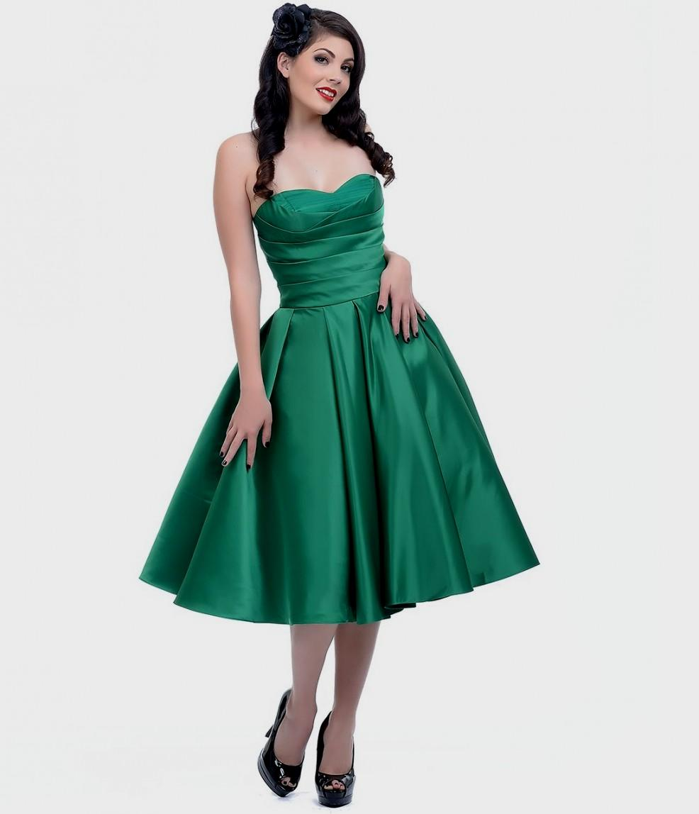 Emerald Satin Gown - Best Choice