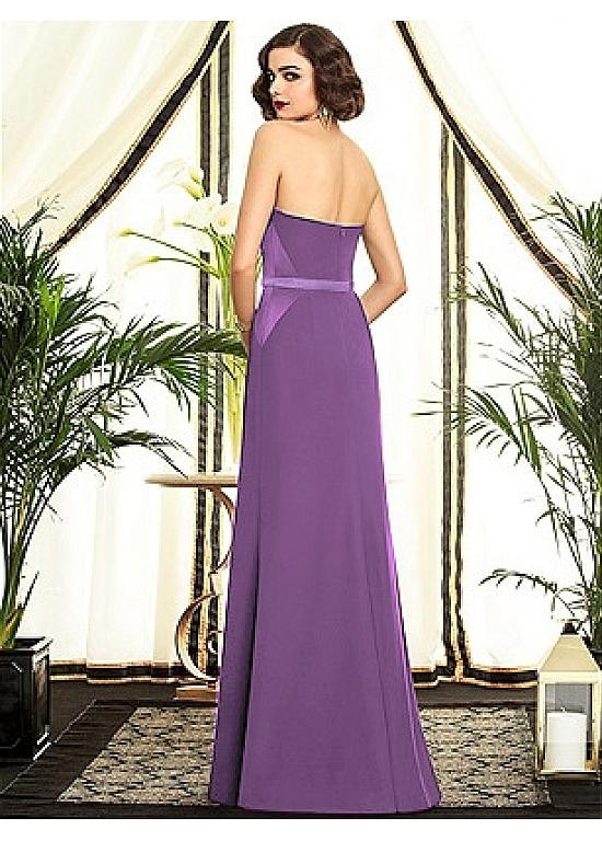 Full Length Purple Dress And Perfect Choices