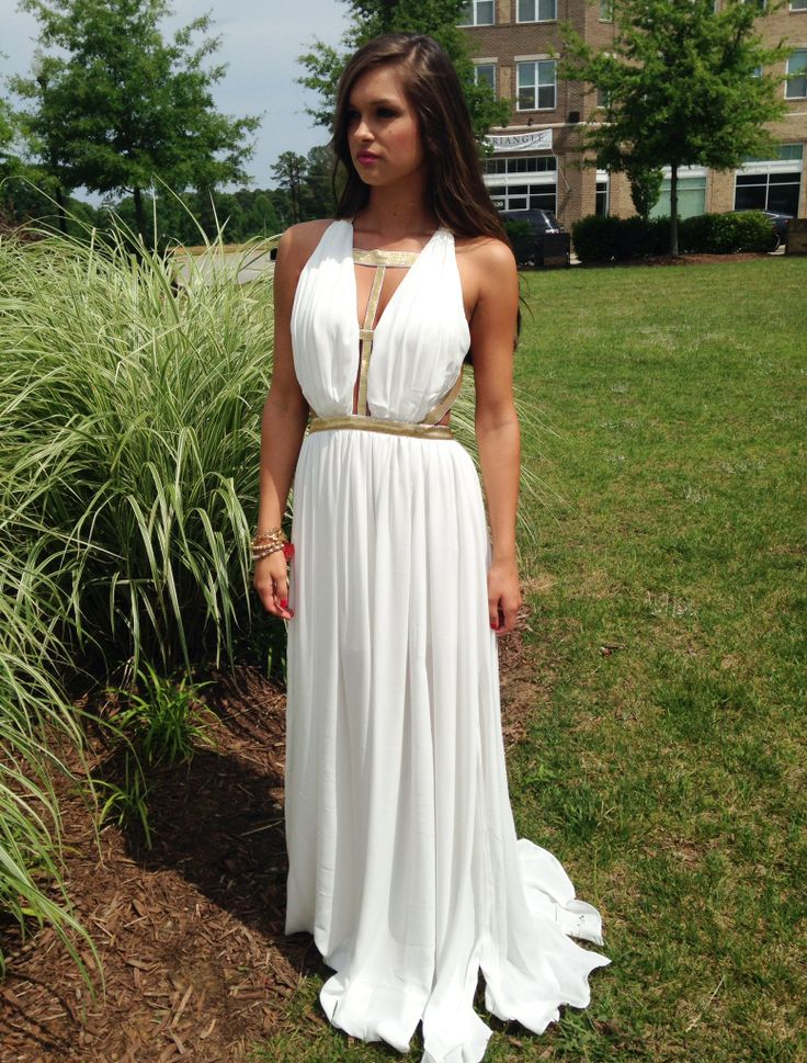 Greek Goddess Maxi Dress - Make Your Life Special