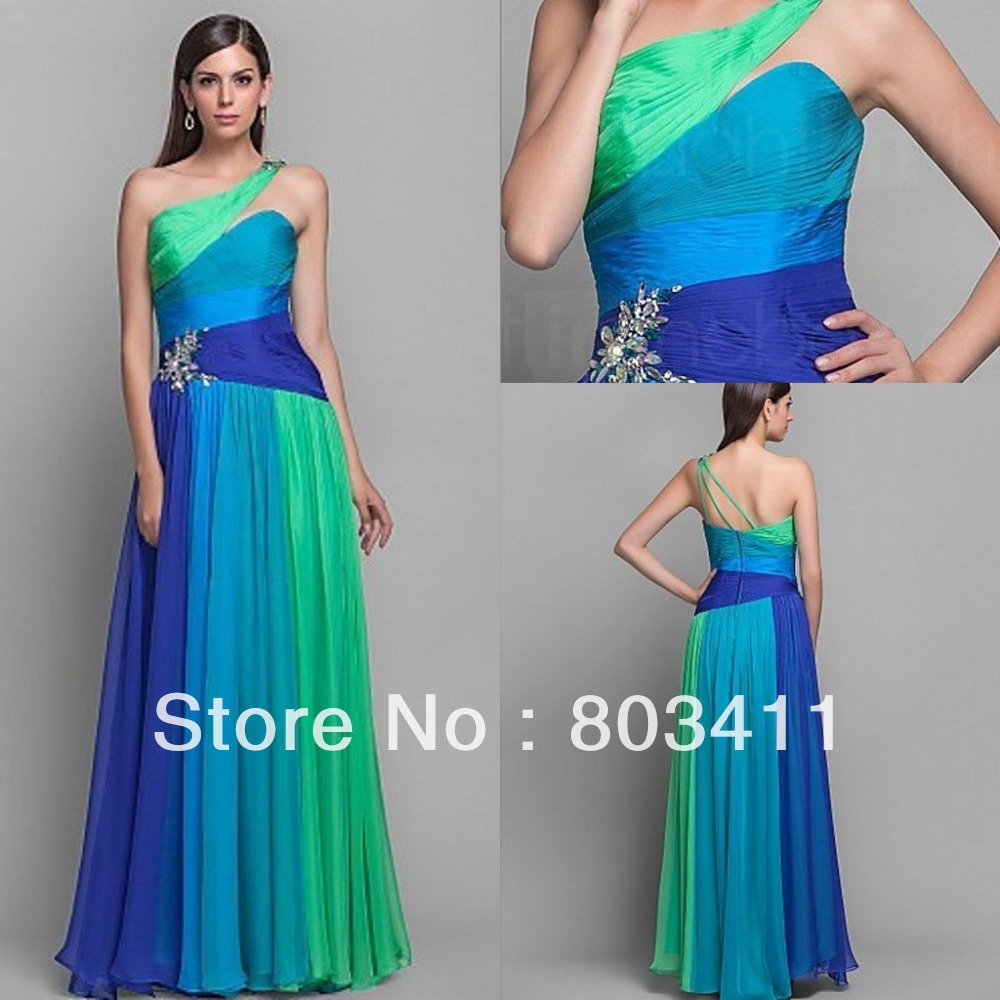 Green Blue Prom Dresses And Clothes Review – Always Fashion