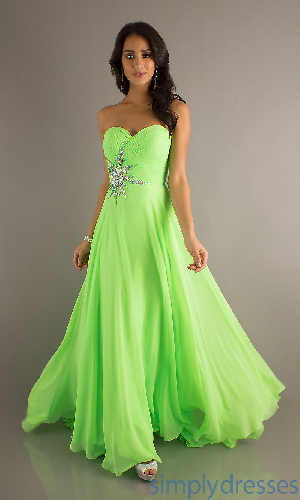 Green Formal Dresses Cheap - 20 Great Ideas