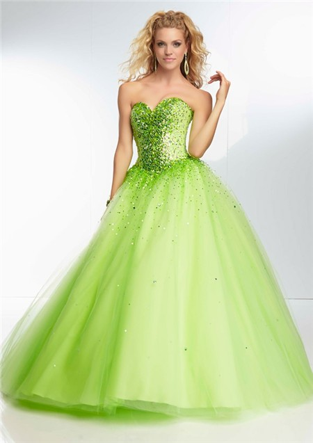 Green Sweetheart Dress - Review 2017