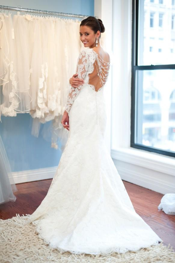 Lace Back White Dress And Best Choice