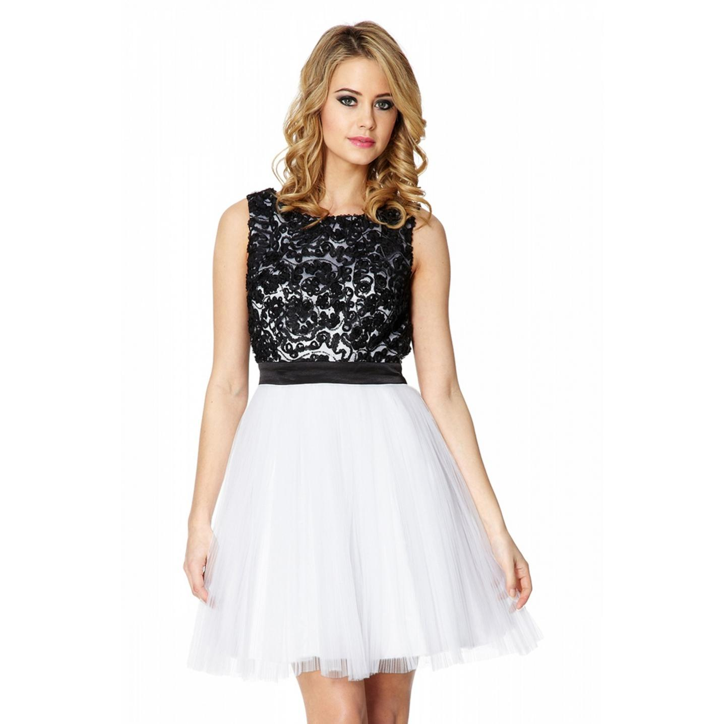 Lace Dress Black And White And Clothes Review – Always Fashion