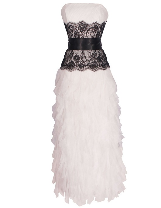 Lace Dress Black And White And Clothes Review