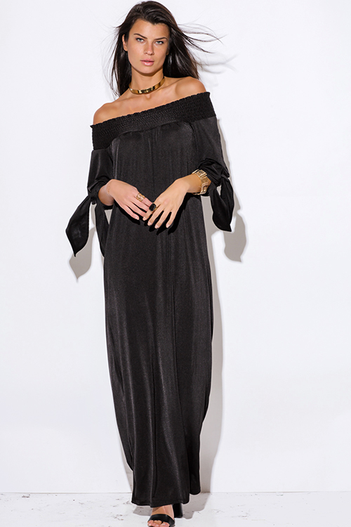 Long Sleeve Off Shoulder Maxi Dress And 10 Great Ideas