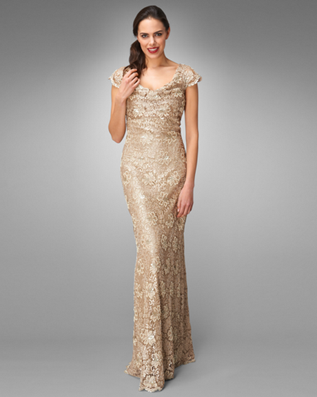 Metallic Lace Bridesmaid Dresses - 20 Great Ideas