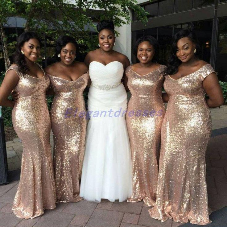 Metallic Silver Bridesmaid Dresses : 2017-2018 Fashion Trend