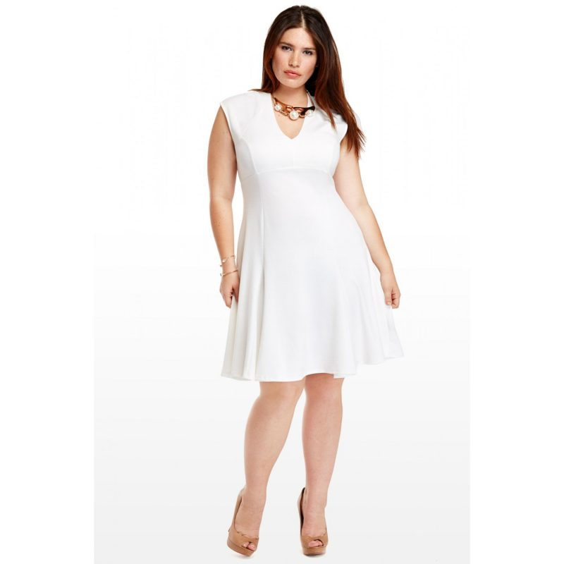 26cc9b398ab Plus Size Dresses For All White Party   Guide Of Selecting – Always ...