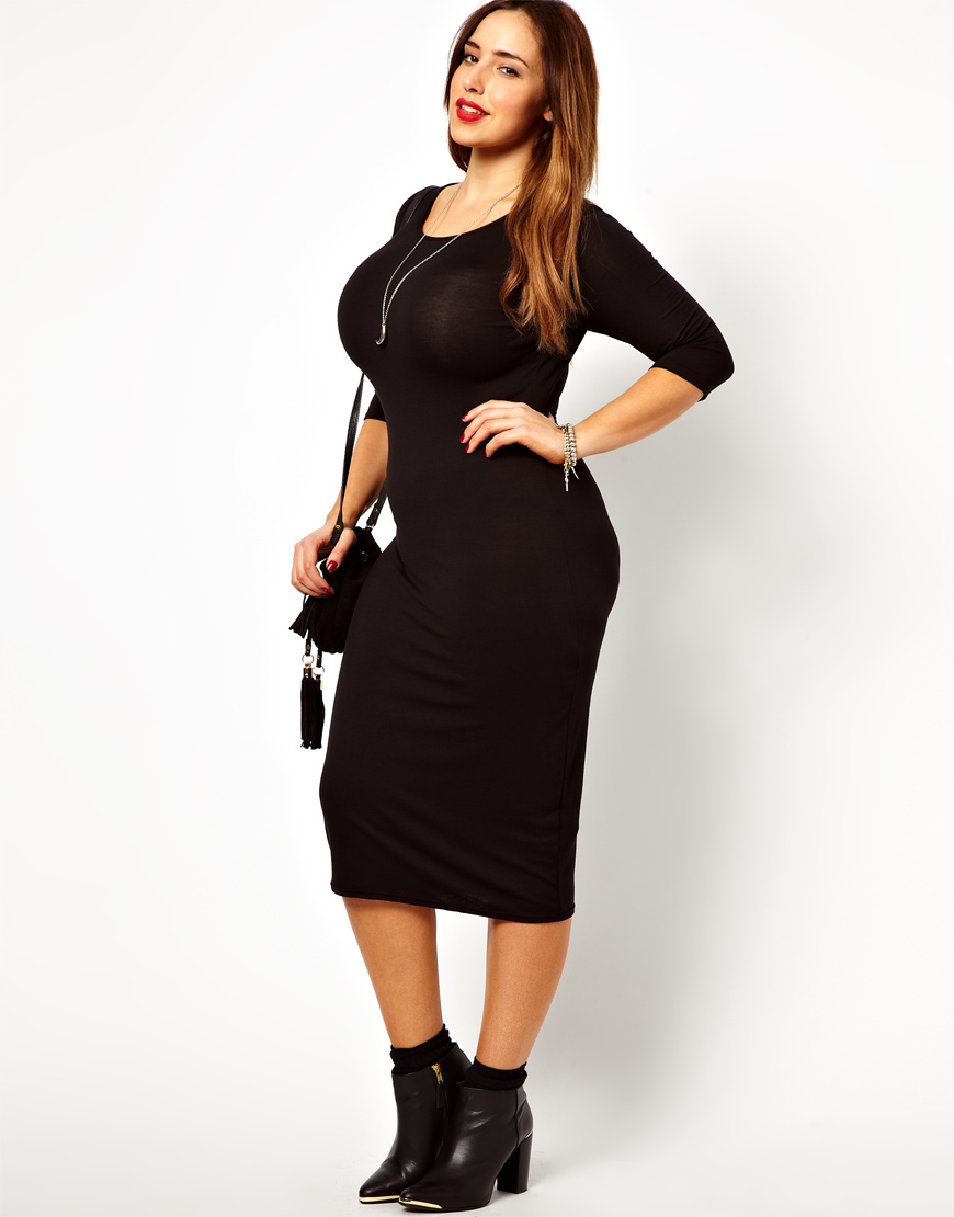 plus size midi party dresses – choice 2017 – always fashion