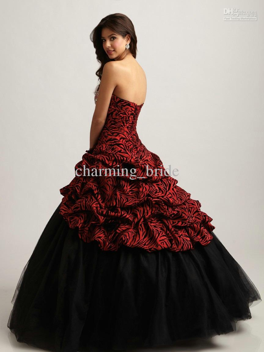 red black and gold prom dresses � online fashion review