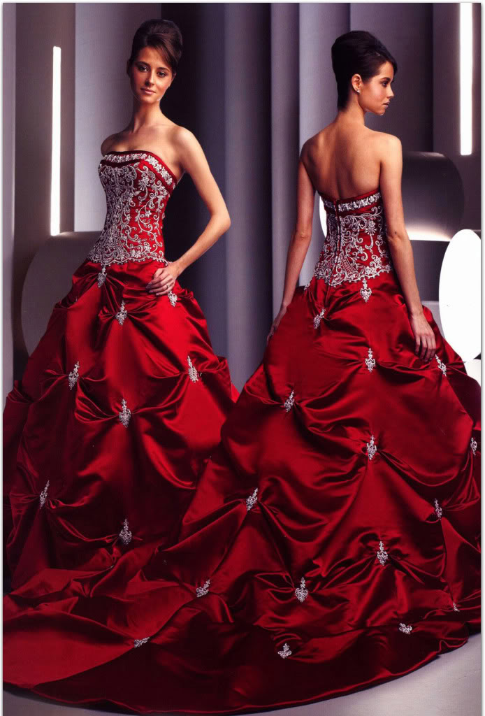 Red White Bridesmaid Dresses - Choice 2017