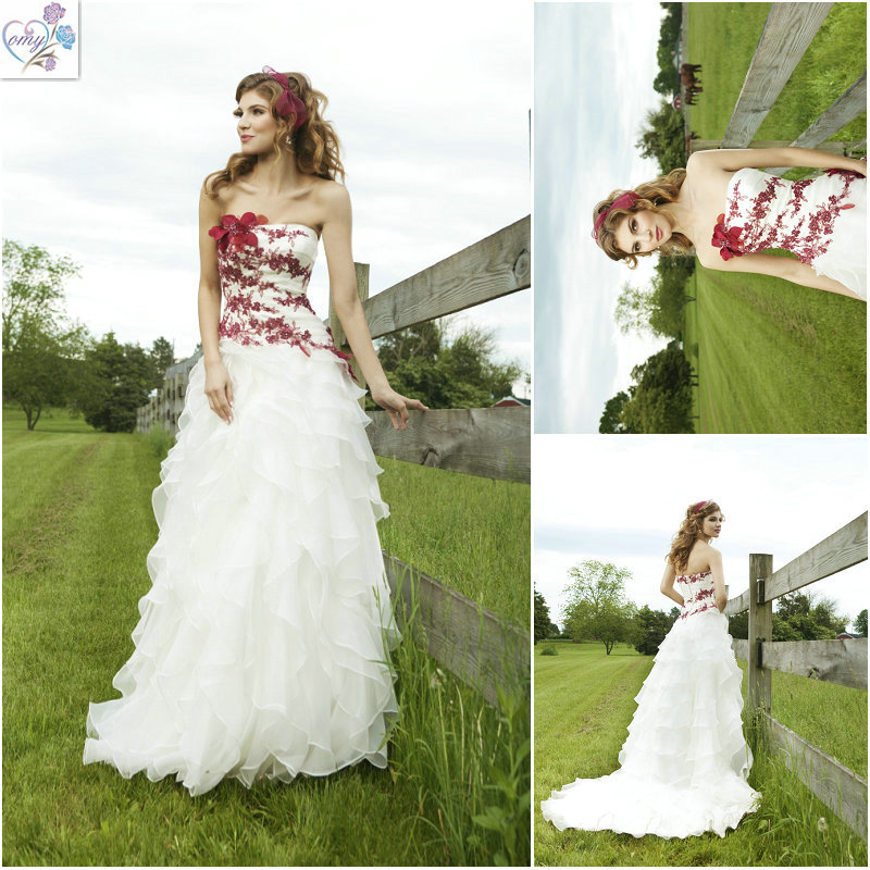Red White Lace Dress - Make Your Life Special