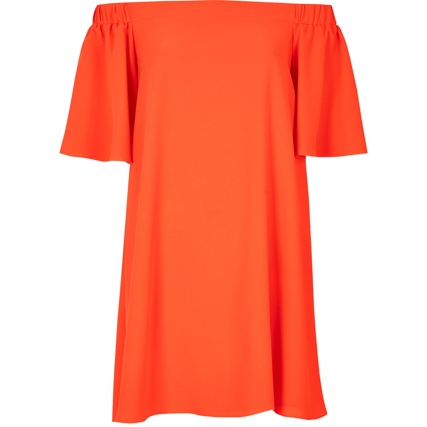 River Island Red Bardot Dress And Fashion Week Collections
