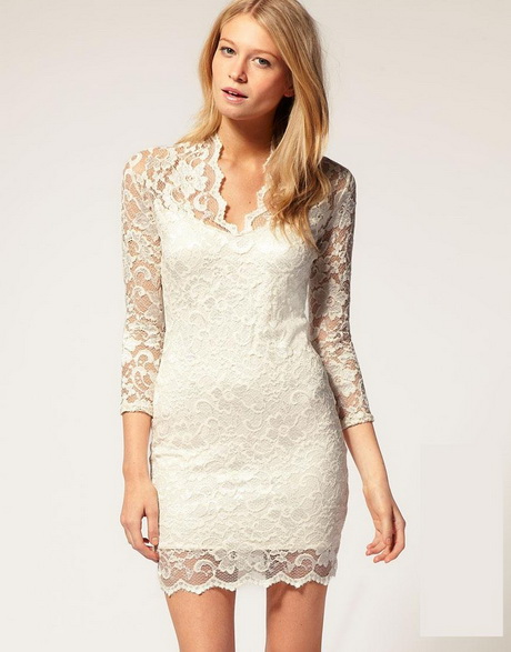 Short Off White Lace Dress And 10 Great Ideas