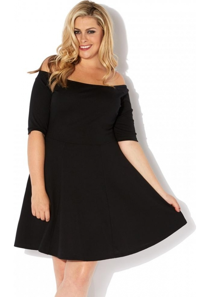 Black Skater Dress Plus Size Good Dresses