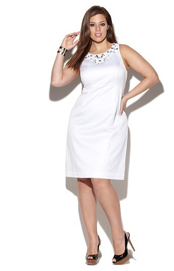 White Graduation Dress Plus Size And Fashion Week Collections ...