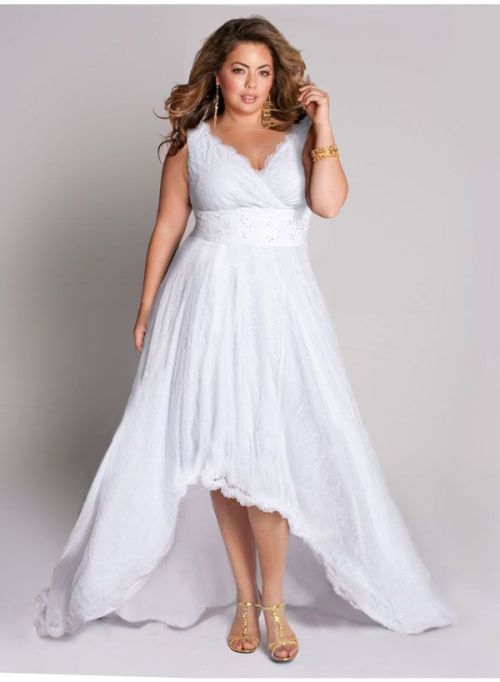 Beautiful Long White Summer Dress Plus Size Photos ...