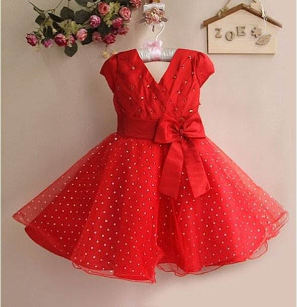 Baby Red Party Dress : Clothing Brand Reviews