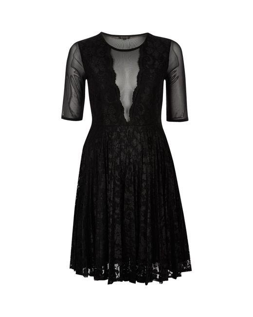 Black Lace Dress River Island : 2017-2018 Fashion Trend