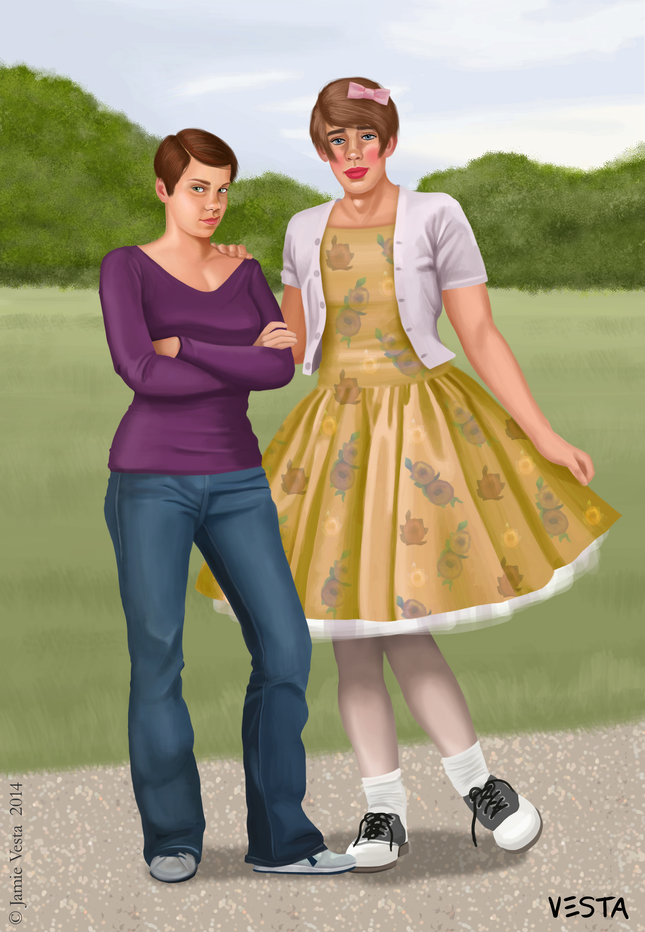 Boys In Pretty Dresses - How To Pick