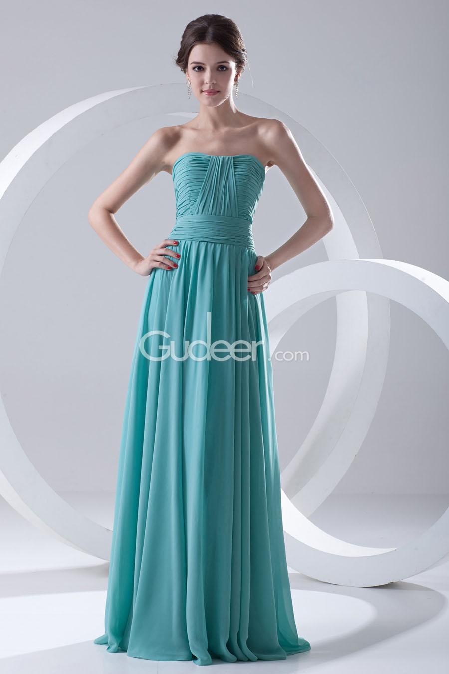 Chiffon Floor Length Bridesmaid Dresses : Clothing Brand Reviews