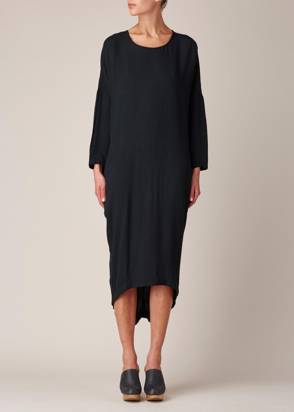 Cocoon Dress Black Crane And Make You Look Like A Princess