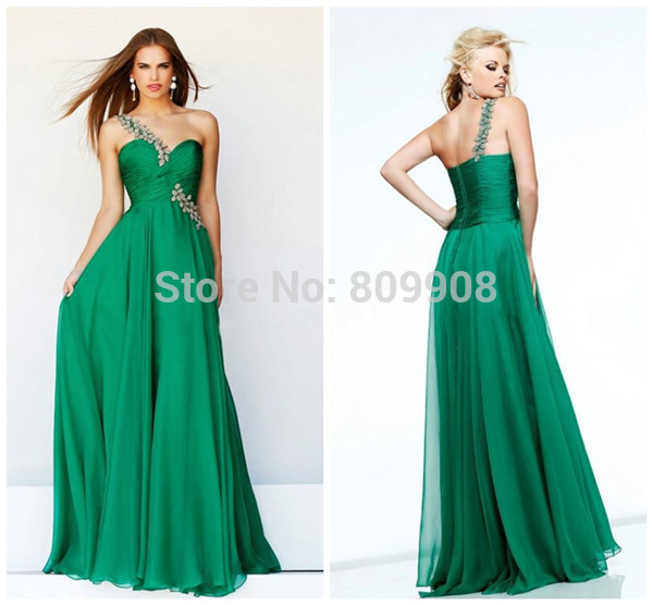 Emerald Green Special Occasion Dresses - Oscar Fashion Review