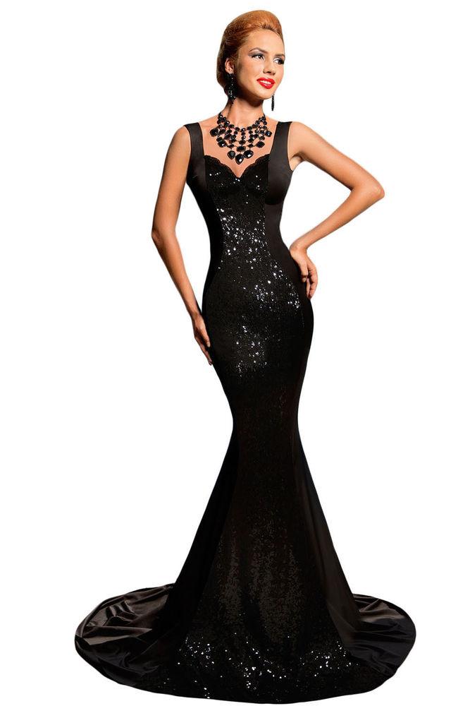 Full Length Black Sequin Dress & 35+ Images 2017-2018