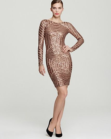 Gold And Pink Sequin Dress And Popular Styles 2017