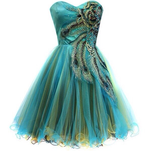 Green Blue Prom Dresses And Clothes Review