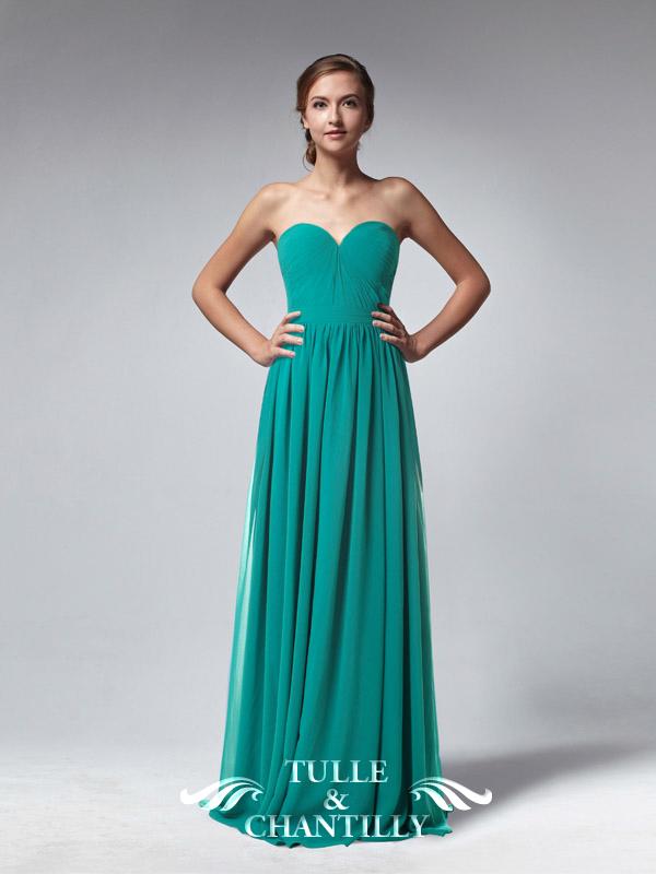 Green Sweetheart Dress - Review 2017