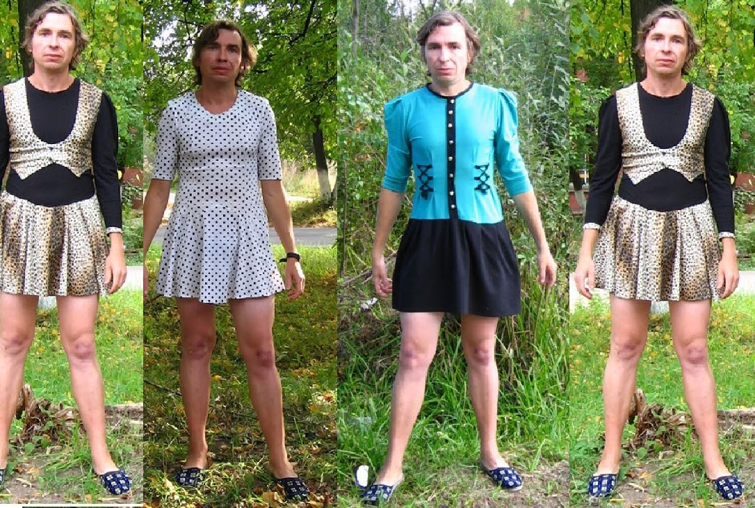 Guy Forced To Dress Like A Woman  35 Images 2017-2018 -3375