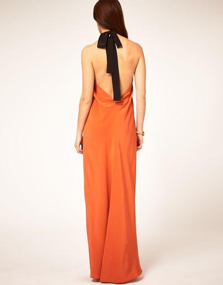 Halter Neck Tie Dress & Style 2017-2018