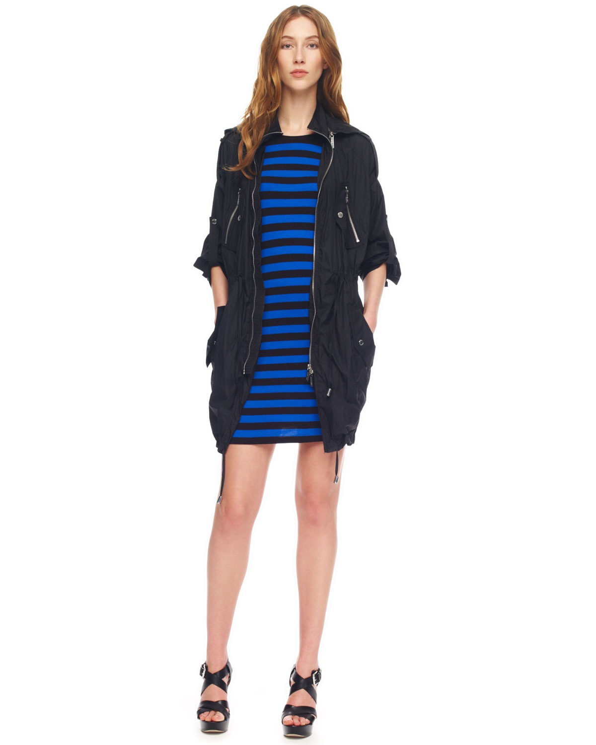 Hooded Jersey Dress - How To Pick
