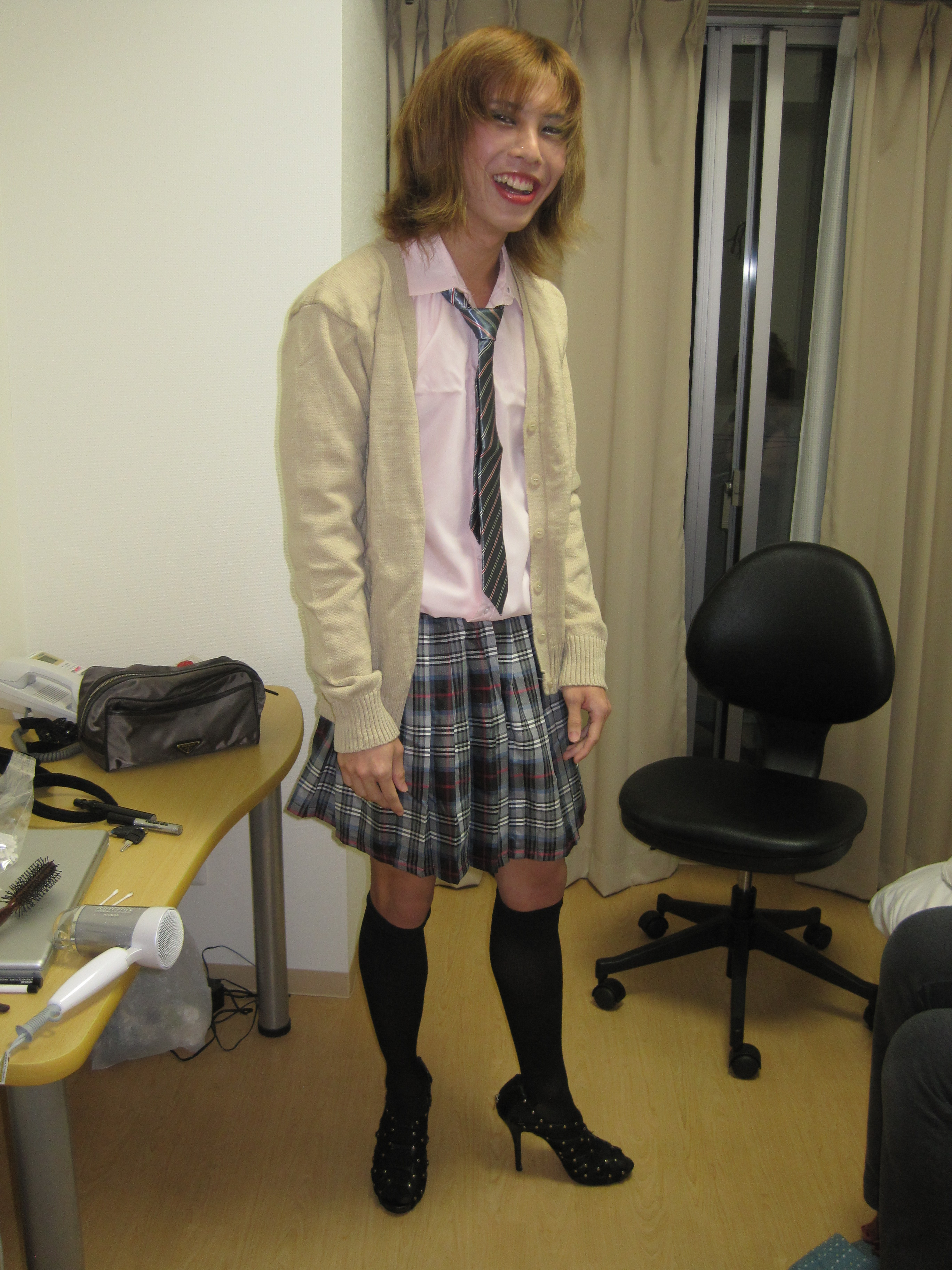 How To Dress A Boy Like A Girl For Halloween : A Wonderful Start