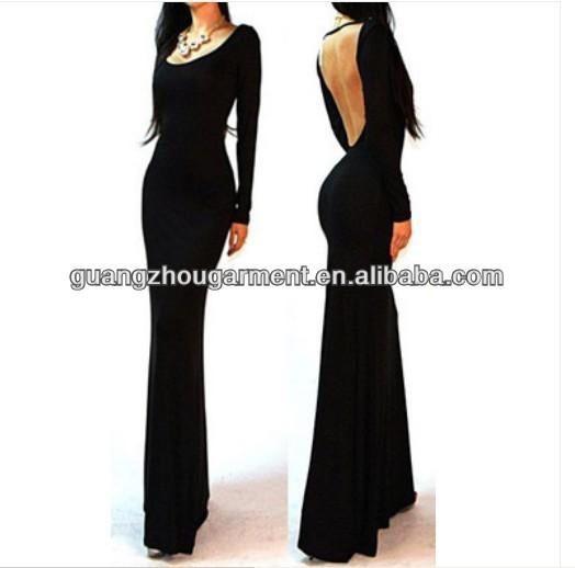 Long Backless Maxi Dresses : Elegant And Beautiful