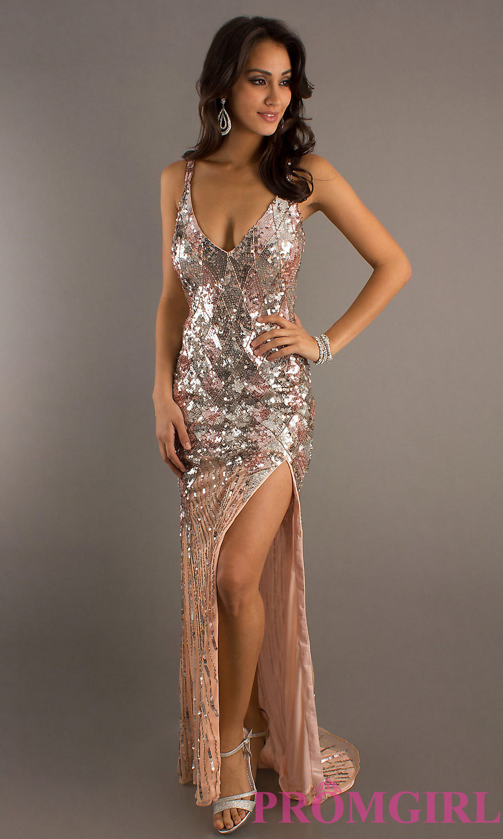 Long Dress With Sequins : Clothing Brand Reviews