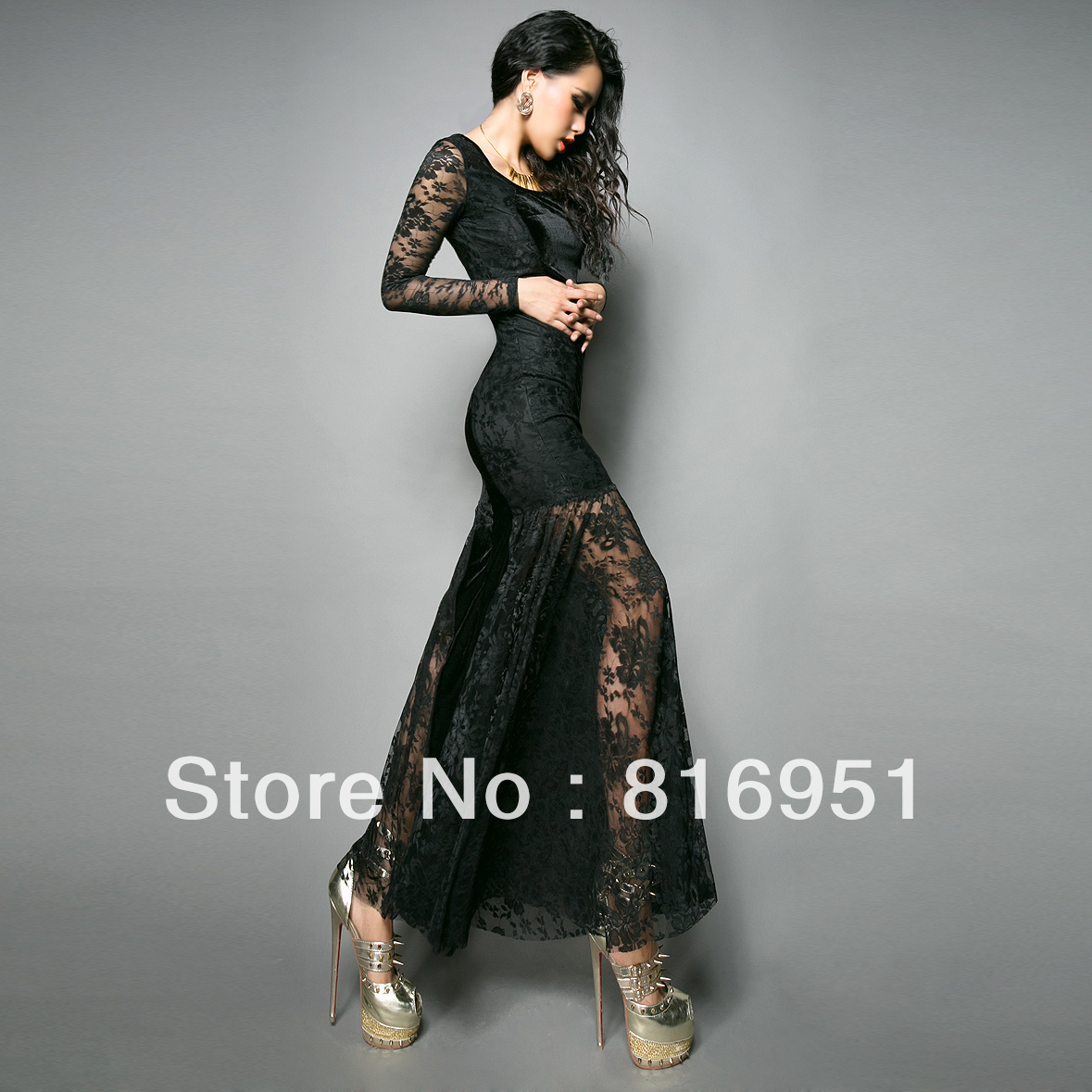 Long Sleeved Full Length Evening Dresses & Always In Fashion For All Occasions