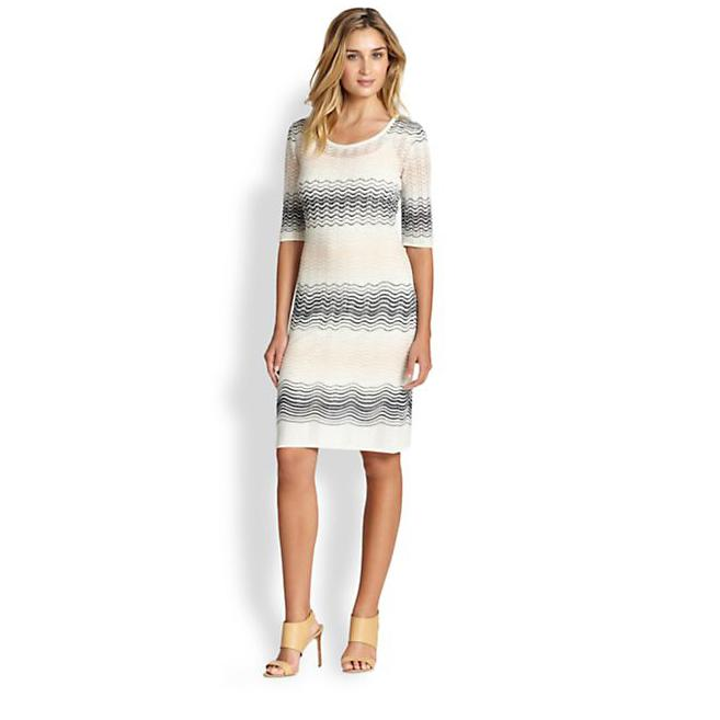 Metallic Crochet Dress - Oscar Fashion Review