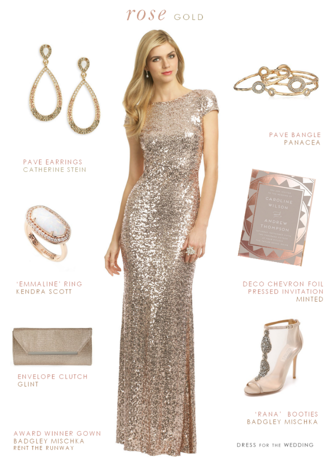 Metallic Silver Bridesmaid Dresses : 2017-2018 Fashion Trend