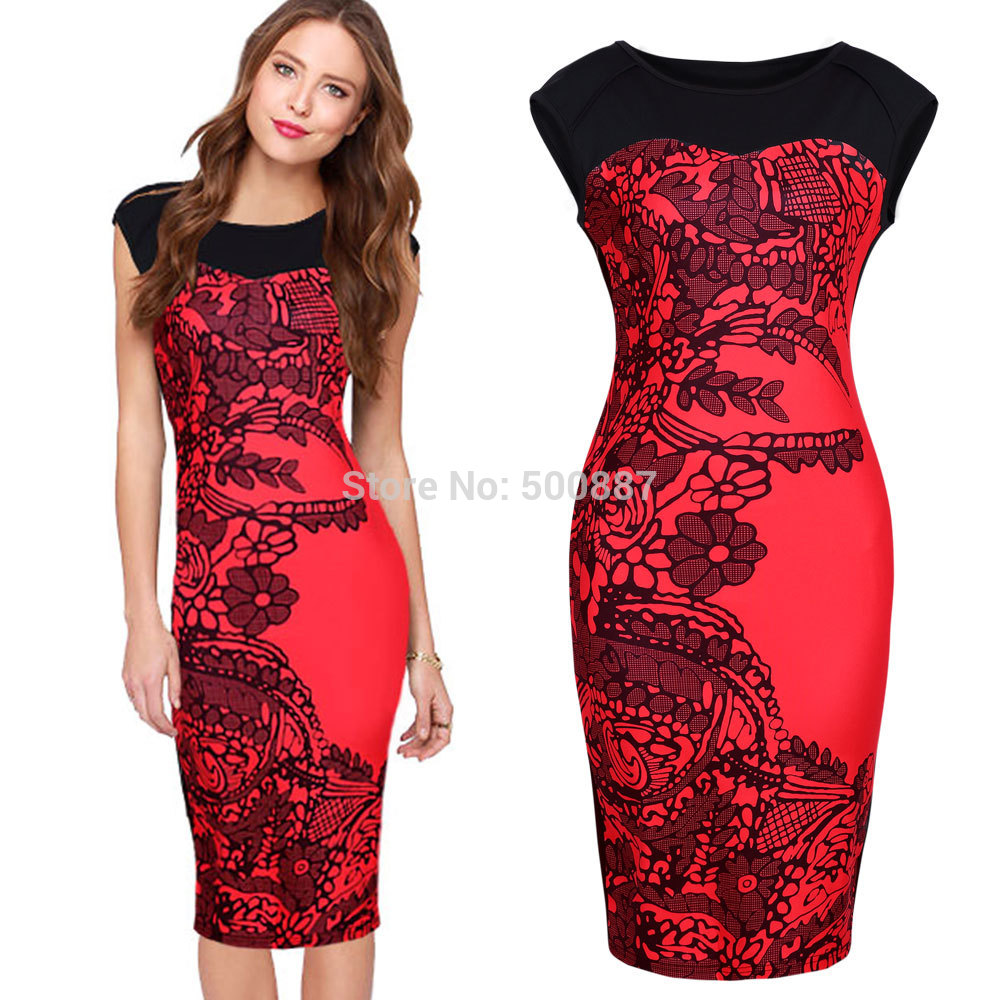 Red Plus Size Bodycon Dress And Fashion Week Collections