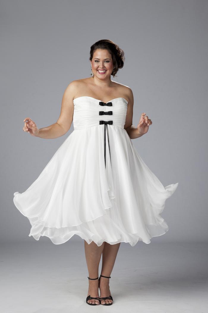 White Graduation Dress Plus Size And Fashion Week ...